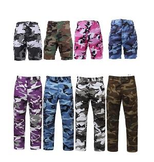 BDU Camo Pants & Shorts