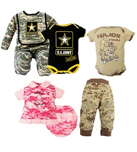 Baby Camo Clothing