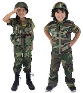 Kids Camo Costumes