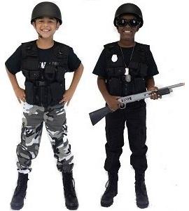 Kids SWAT u0026 Police Costumes  sc 1 st  Army Surplus World & Childrenu0027s Military Costumes - Kidsu0027 Army Costumes | Army Surplus World