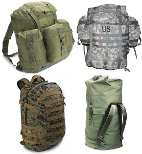 Military Bags & Rucksacks