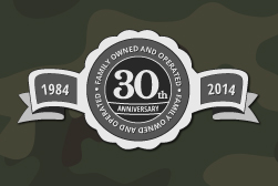 30th Anniversary for Army Surplus World